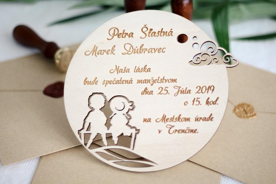 svadobné oznámenia