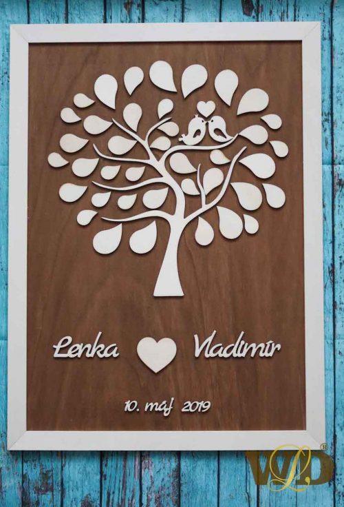 Svadobný listový strom