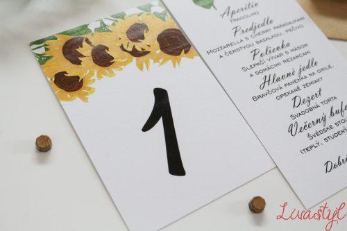 číslo na stôl