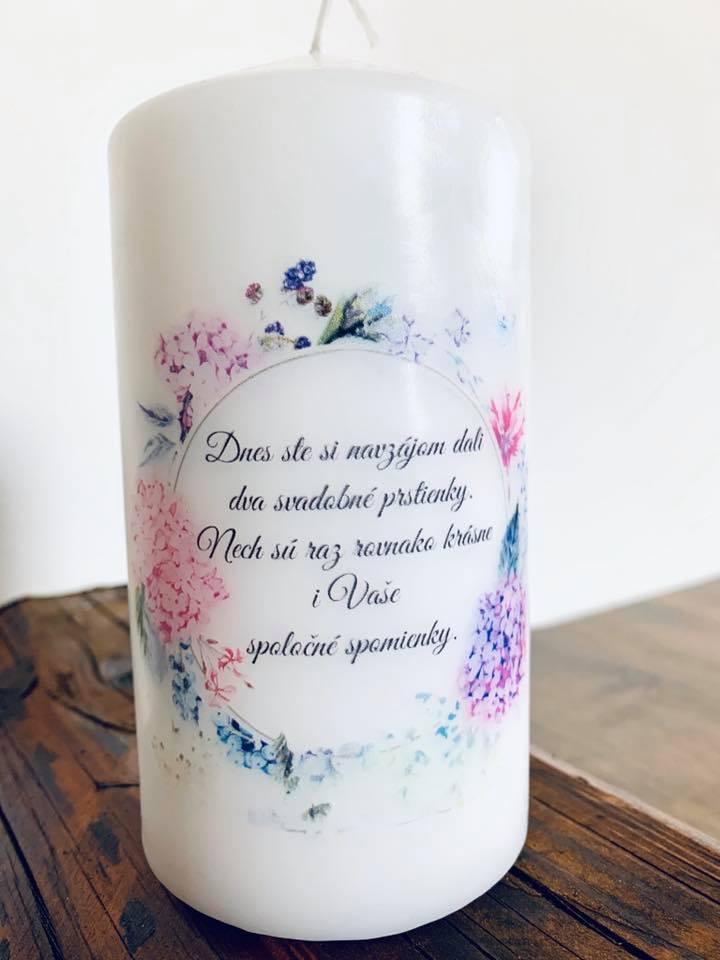 svadobná sviečkaa