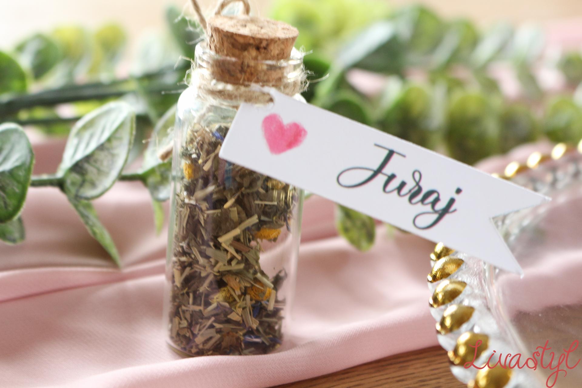 sypaný čaj darčeky