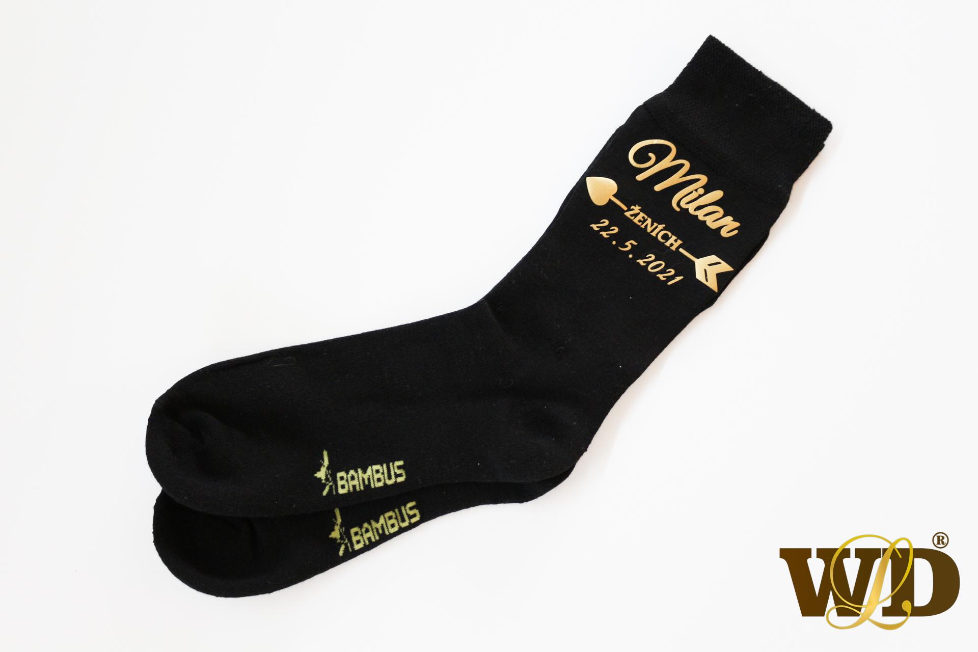 ponožky pre ženícha