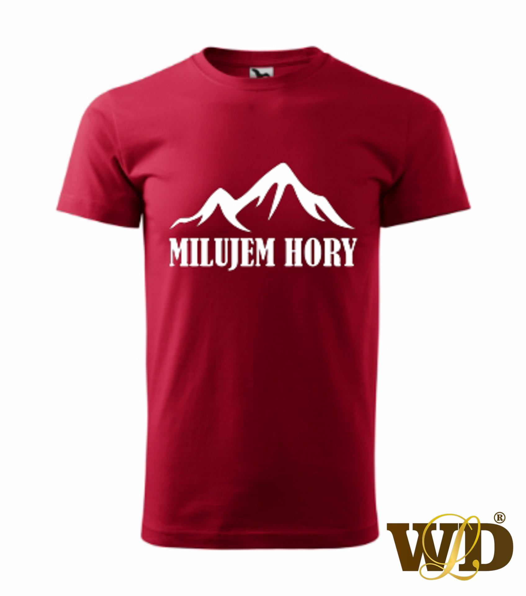 červene tričko milujem hory-2