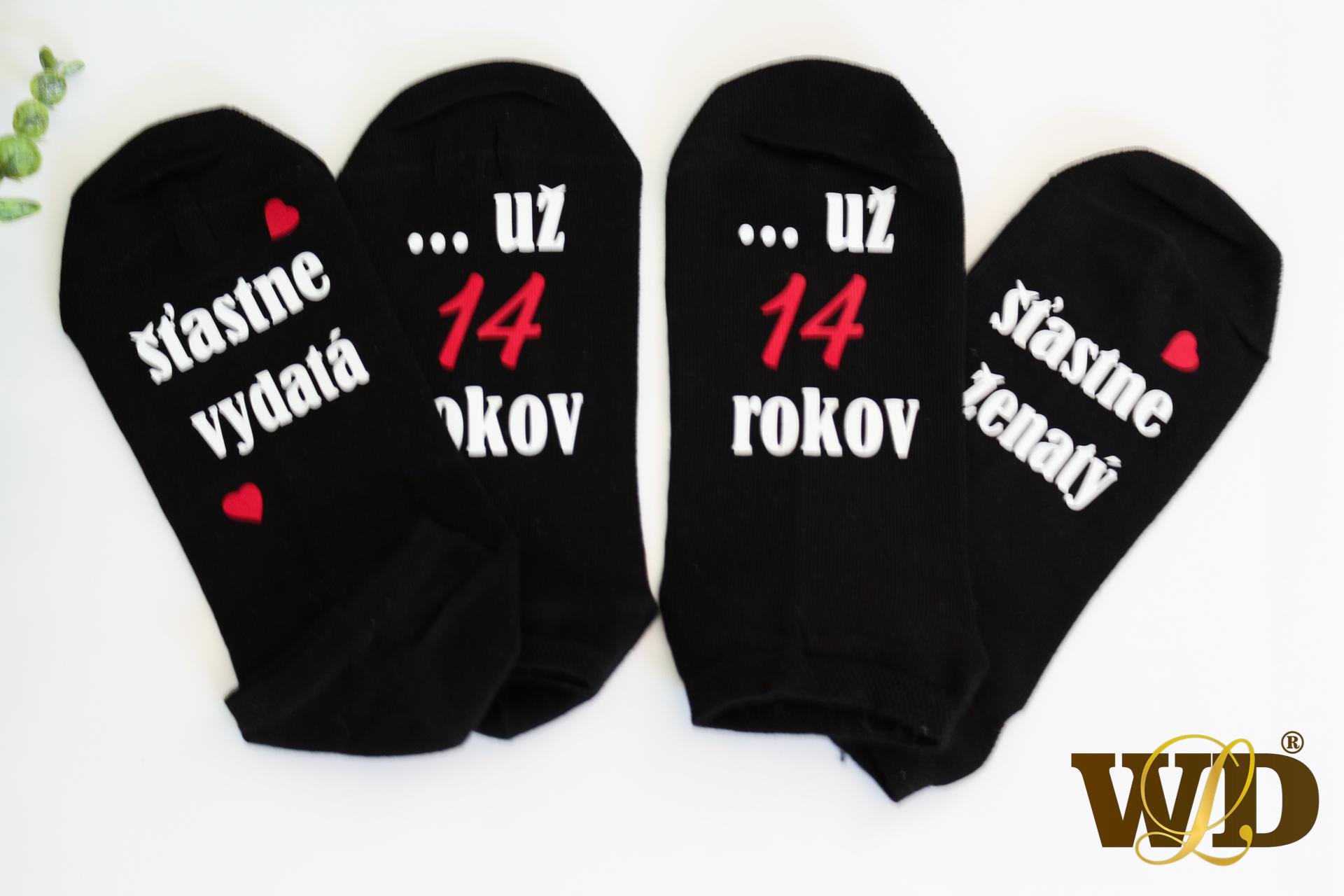 ponožky k výročiu