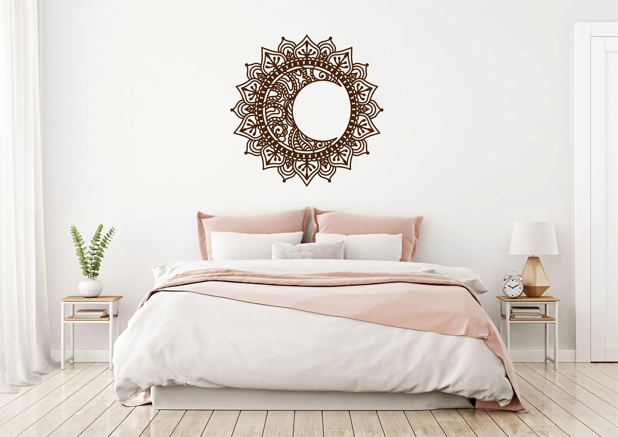 drevená mandala